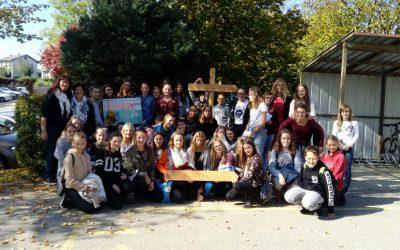 Obisk partnerske šole iz Kirchberga ob reki Rabi