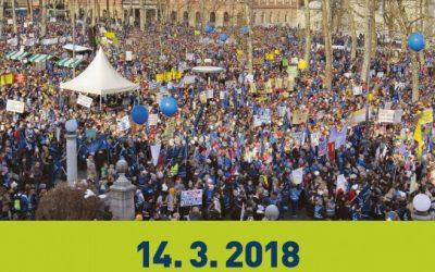 Splošna stavka zaposlenih v VIZ – sreda, 14. 3. 2018