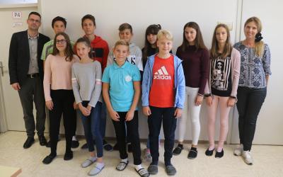 Člani 15. šolske otroške vlade