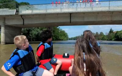 Projekt eTwinning – snemanje »Čez radgonski most«